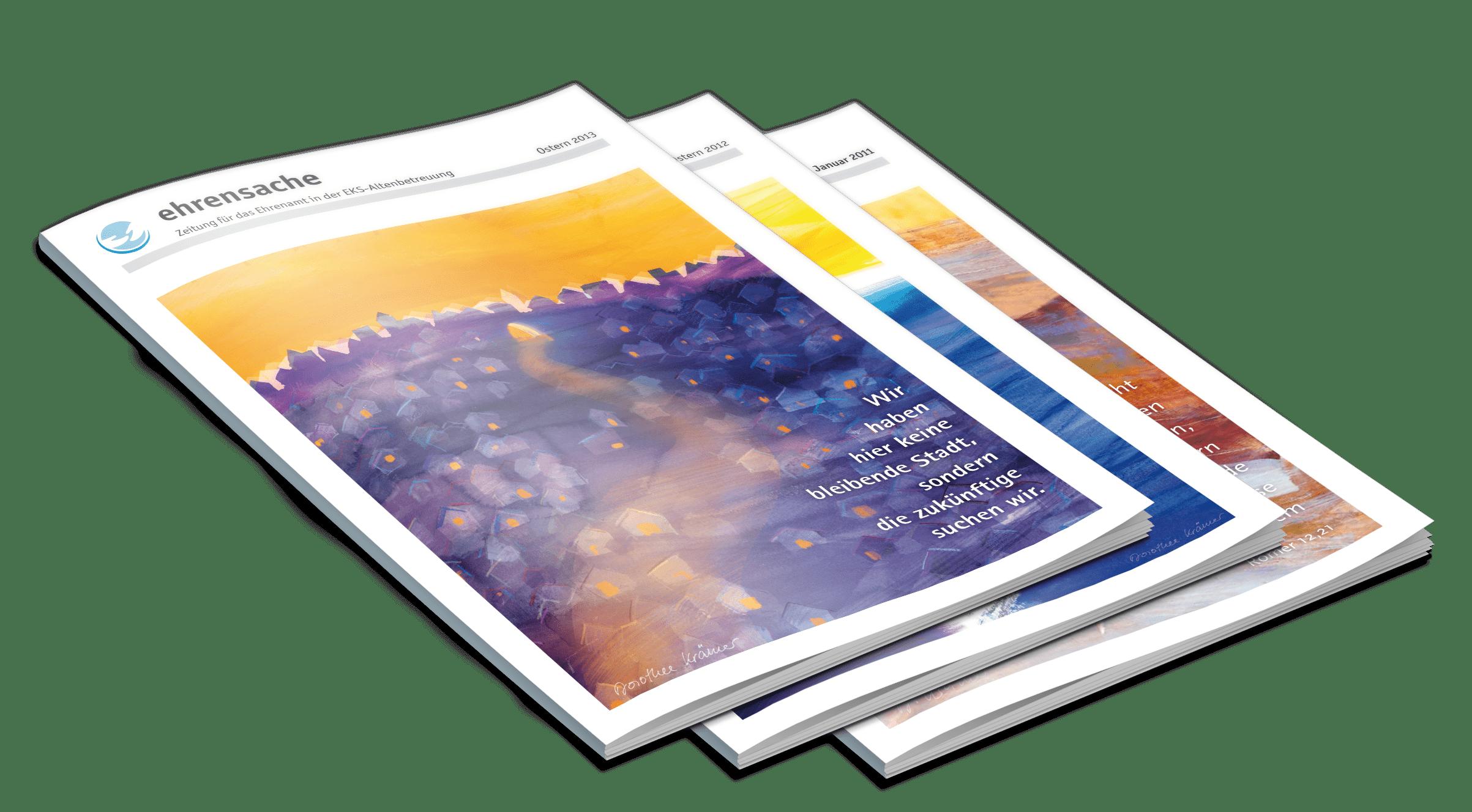 Ehrenamtszeitung Broschüre DMR Altenbetreuung