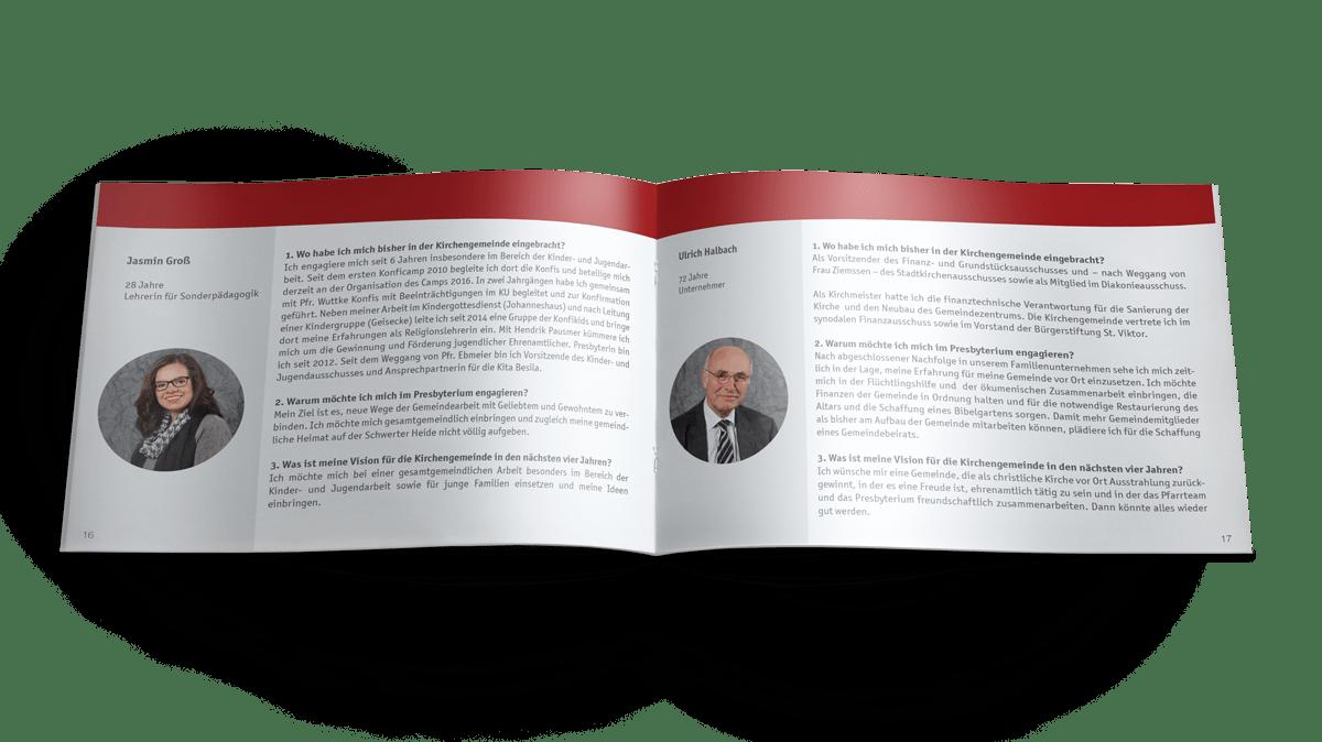 Sonderausgabe Broschüre, Magazin Kirchenzeitung der Evangelischen Kirchengemeinde Schwerte