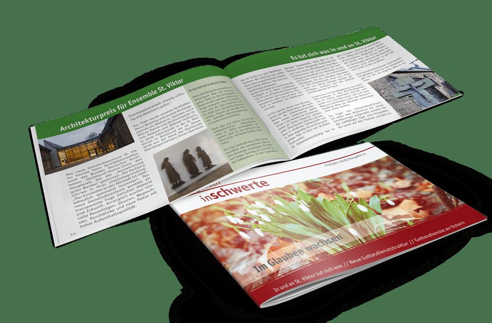 Broschüre, Magazin, Print Kirchenzeitung Evangelische Kirchengemeinde Schwerte