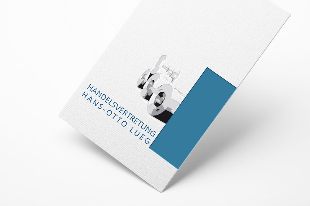 Logoentwicklung Corporate Design für die Handelsvertretung Lueg
