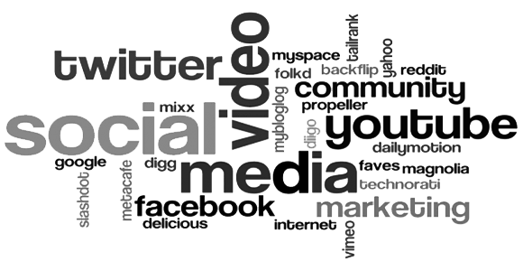 Social Media Marketing und Beratung Schlagwortwolke